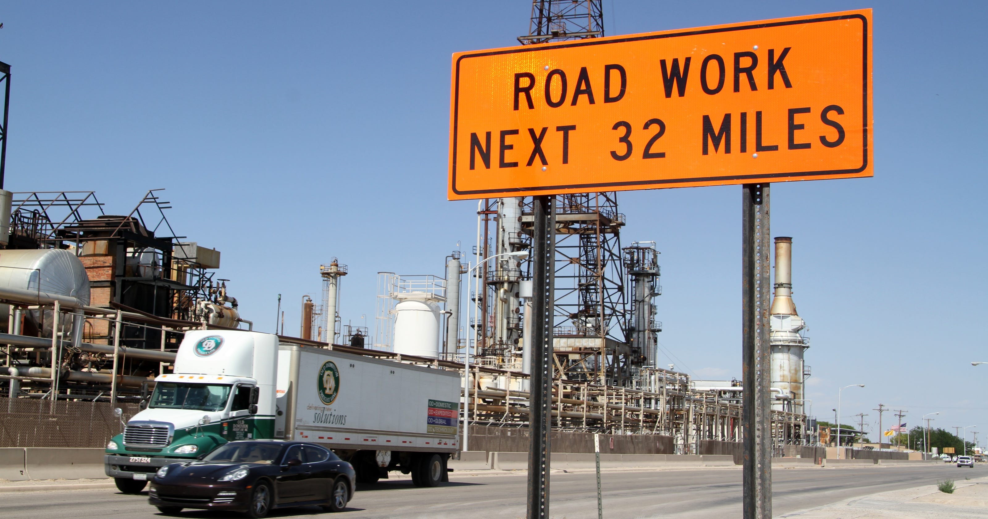 Improvements coming to oilfield roads in southeast NM, West