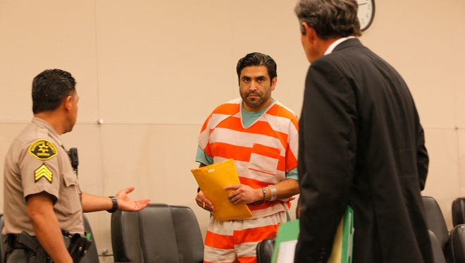 Jose Castaneda appeared in court for sentencing on Thursday and requested a new attorney.