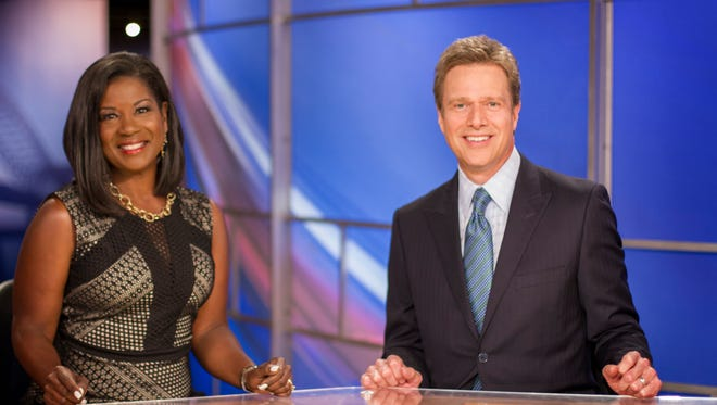 WREG-TV Channel 3 has hired Greg Hurst (right) as anchor to replace Richard Ransom.