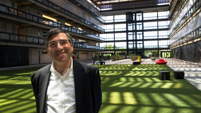 Ralph Zucker is winning accolades for bringing the old Bell Labs building back to life, turning a reserach center for a giant monopoly into an economic hub for the digital age.