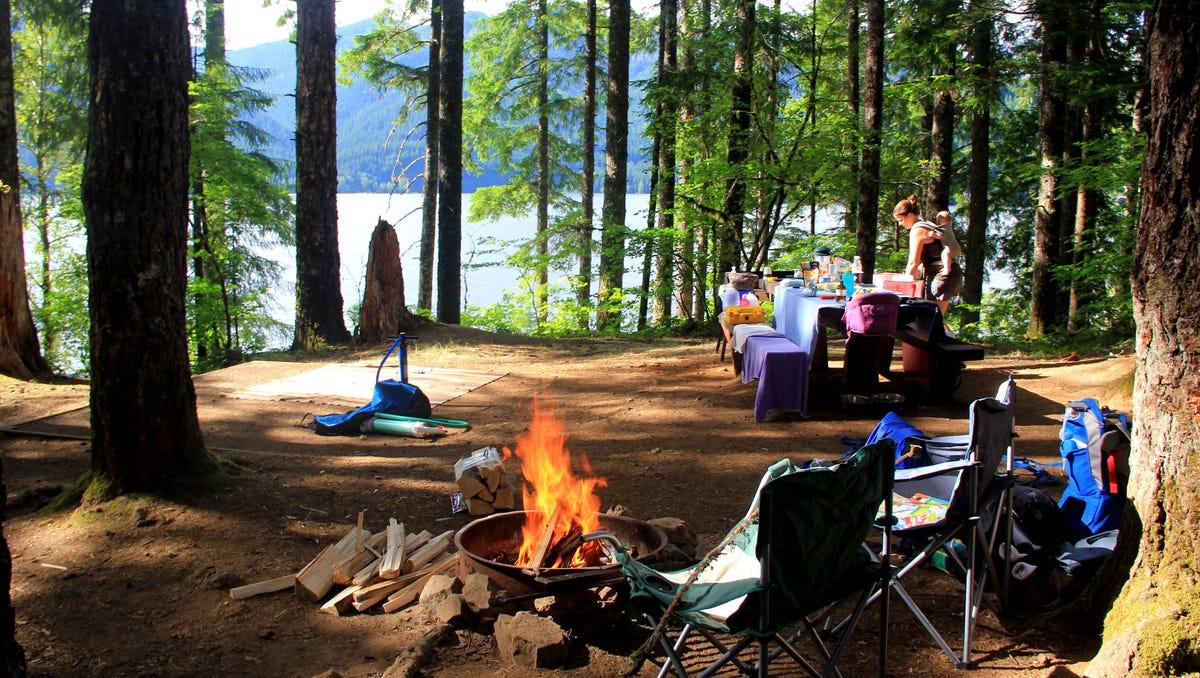 17 'mellow' places to camp around Detroit Lake, Oregon