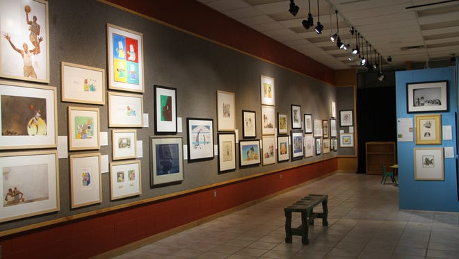 """""""Childhood Classics: 100 Years of Original Illustration from the Art Kandy Collection"""" exhibit at the Carlsbad Museum and Art Center includes more than 100 children's books illustrations. The exhibit is open through Sept. 30, 2017."""