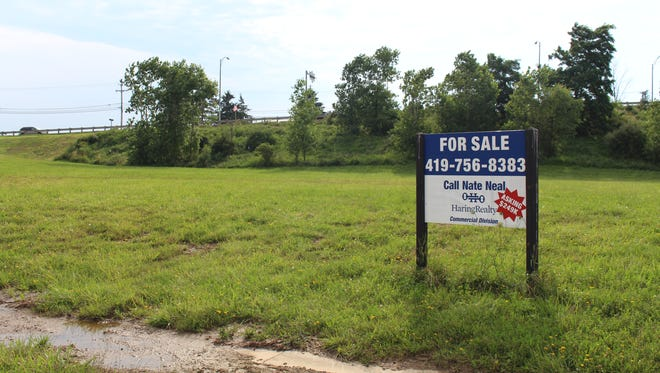 A new retail business complex with room for up to six stores is coming to this Ontario cul-de-sac off Briggs Drive, seen here on Wednesday, July 12, 2017. The complex will be located between The Home Depot and North Lexington-Springmill Road.