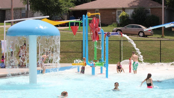 Children play at Silver Springs pool in Springfield in this 2015 photo.