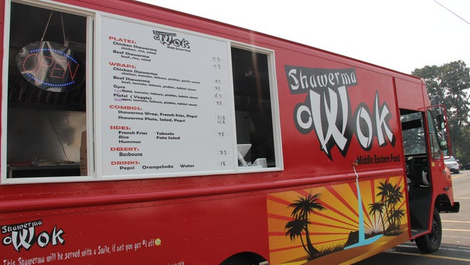 Shawerma Owok, the new food truck on Commercial Street SE, specializes in Middle Eastern meats and sandwiches.