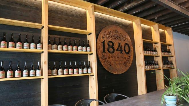 1840 Brewing Company,  342 E. Ward St., is an urban farmhouse brewery.