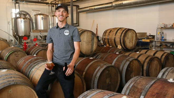 Kyle Vetter owns 1840 Brewing, an urban farmhouse brewery, with his wife Stephanie.