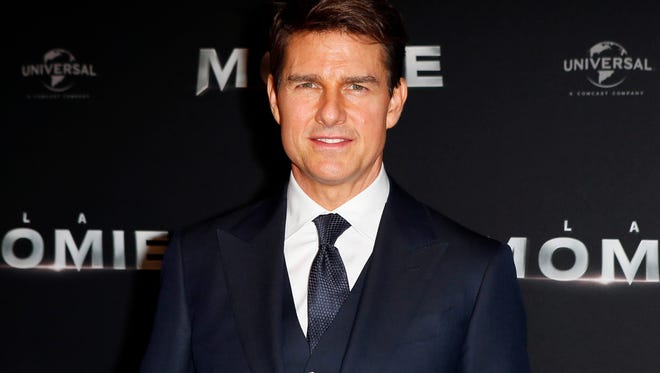 Tom Cruise is seen limping on video obtained by TMZ.