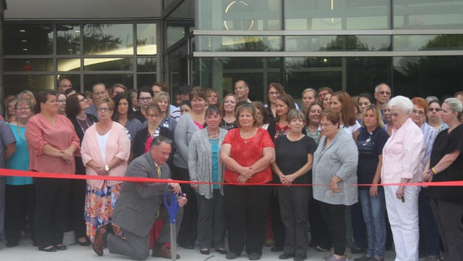Ribbon cutting for new $24 million addition to Compass Memorial Healthcare (aka Marengo Memorial Hospital) on Tuesday, Aug. 15.