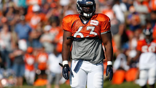 Former Denver Broncos defensive tackle Calvin Heurtelou has signed with the Packers.