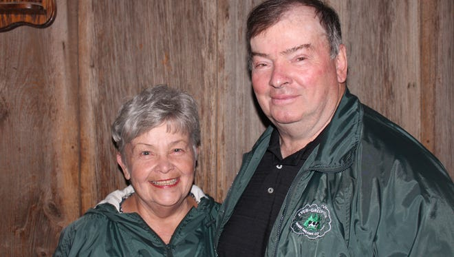 Tom and Gin Kestell of Ever-Green-View Farms are the recipients of the 2017 National Dairy Shrine 2017 Distinguished Dairy Cattle Breeder Award.