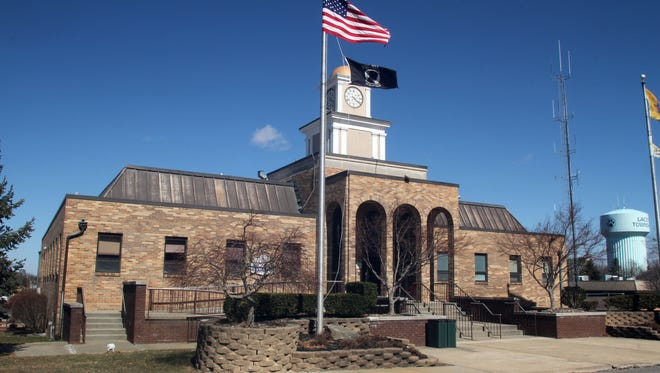Lacey Township municipal building.  FILE PHOTO