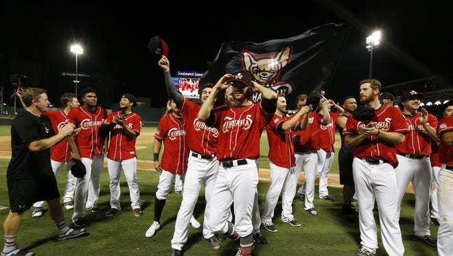 The El Paso Chihuahuas swept the Reno Aces in the first round of the PCL Playoffs. They capped it off with a 7-6 win Friday night at Southwest University Park.