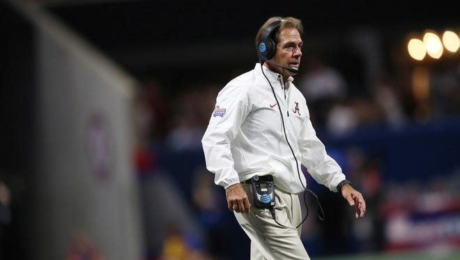 Alabama coach Nick Saban said in his Monday press conference that he's impressed with what he sees from Colorado State. The Rams play at No. 1 Alabama at 5 p.m. Saturday (ESPN2).