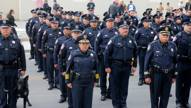 A city-commissioned survey is seeking Salinas residents' opinions on the police and its relationship with the community.