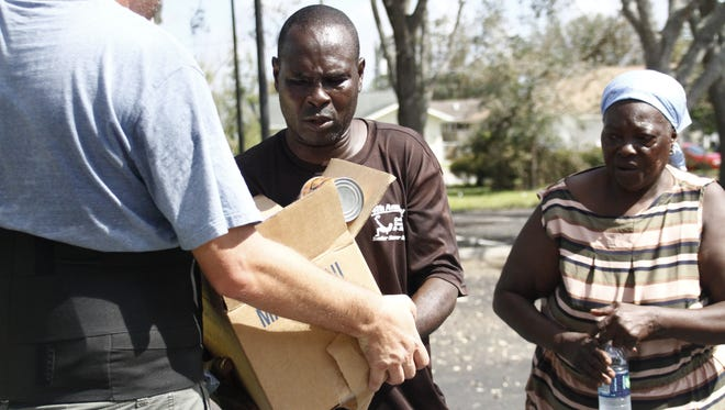 In response to Hurricane Irma, as many as 7,000 members of The Church of Jesus Christ of Latter-Day Saints removed debris from homes, cut trees and limbs and gave out food and water across Collier County, including Golden Gate.