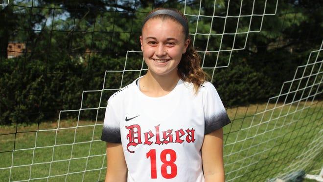Madison Maxwell, Delsea girls' soccer