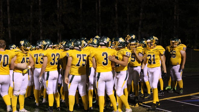 The Edgar football team broke out yellow jerseys last Friday in a win over Chequamegon. Edgar remains ranked second in the Small Division for the Associated Press state football poll.