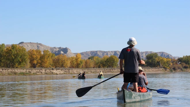 The Wild and Scenic Act covers a 149-mile stretch of the Missouri River called the Upper Missouri River Breaks. This area is home to several species of fish and wildlife, as well as impressive sandstone formations.