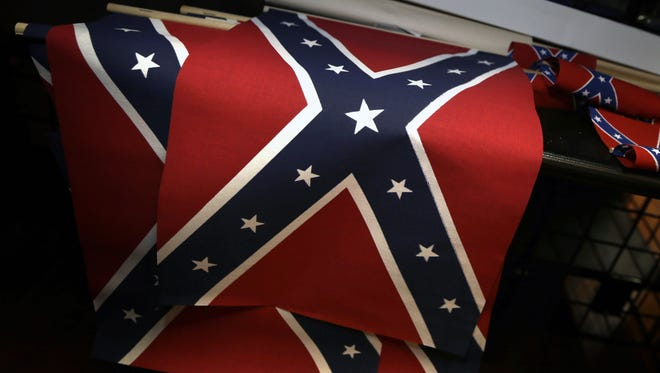 Confederate flags for sale.