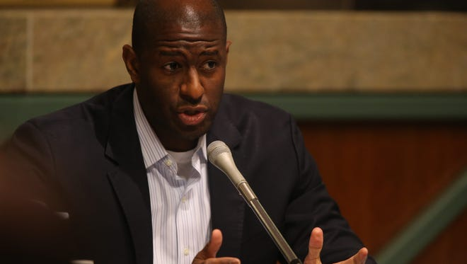 """""""This is not a normal situation. It requires absolutely more than what is a normal or typical response,"""" said Mayor Andrew Gillum at Wednesday's City Commission meeting."""