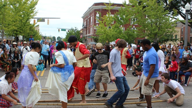 The Jackson International Food and Art Festival begins 10 a.m. Saturday in downtown Jackson.