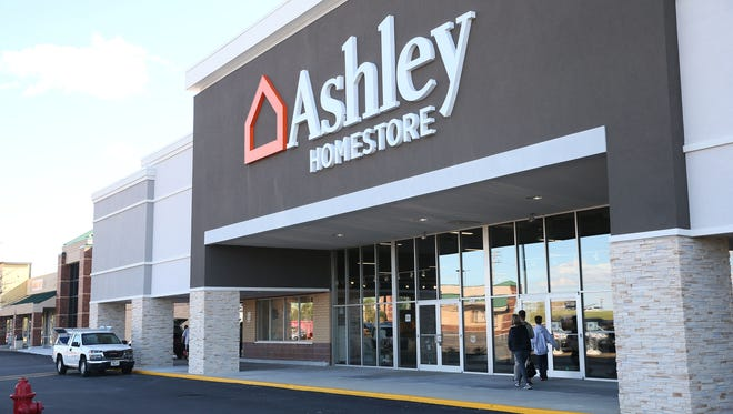 The new Ashley HomeStore on Capitol Drive in Pewaukee will have its grand opening on Friday.
