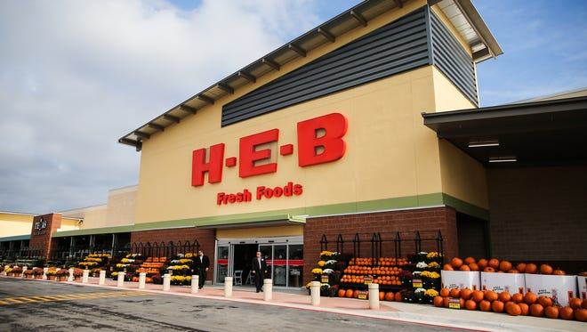 The H-E-B San Angelo #2 at 5502 Sherwood Way opened Oct. 20, 2017.