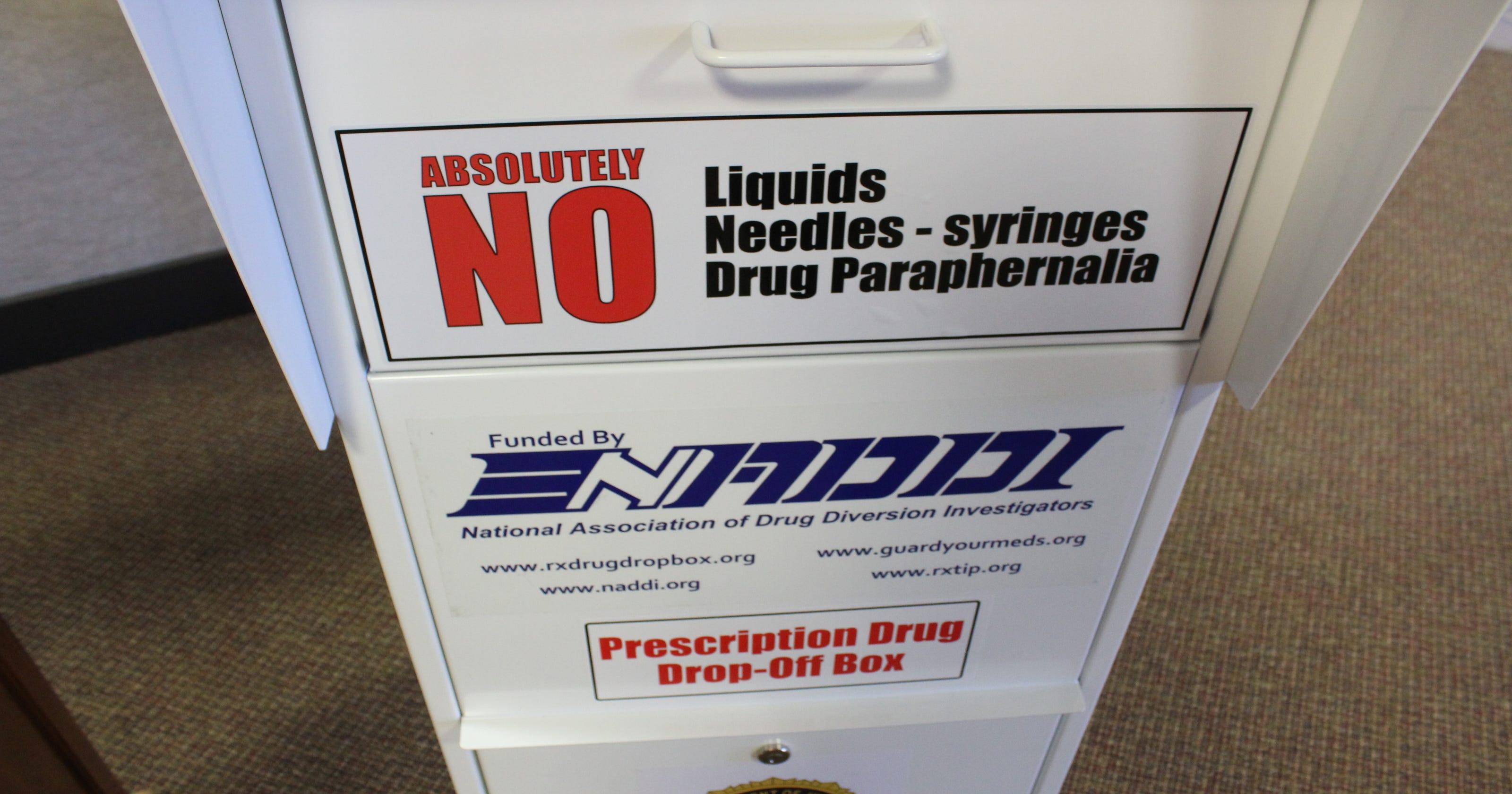 Video: Prescription Pill drop boxes
