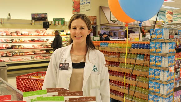 Ashley Cully, is the in-store dietitian at the ShopRite