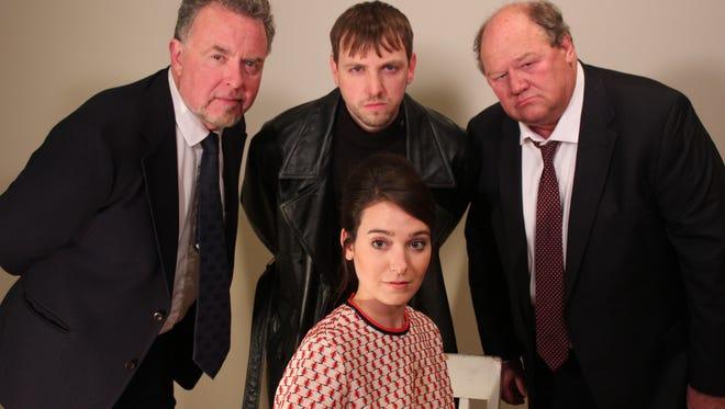 Cast of The Masquers' presentation of 'Wait Until Dark.'