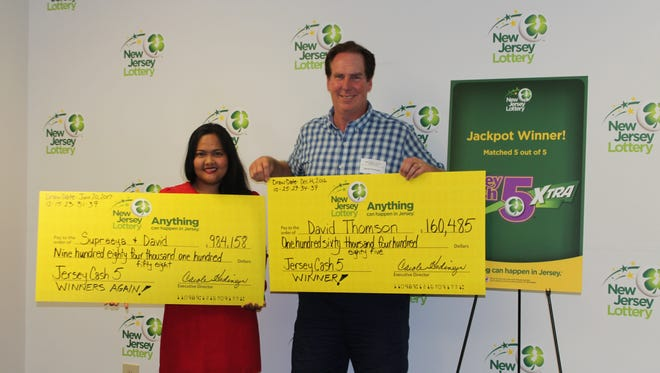 Lottery winners' stories remind us that anything can happen in Jersey