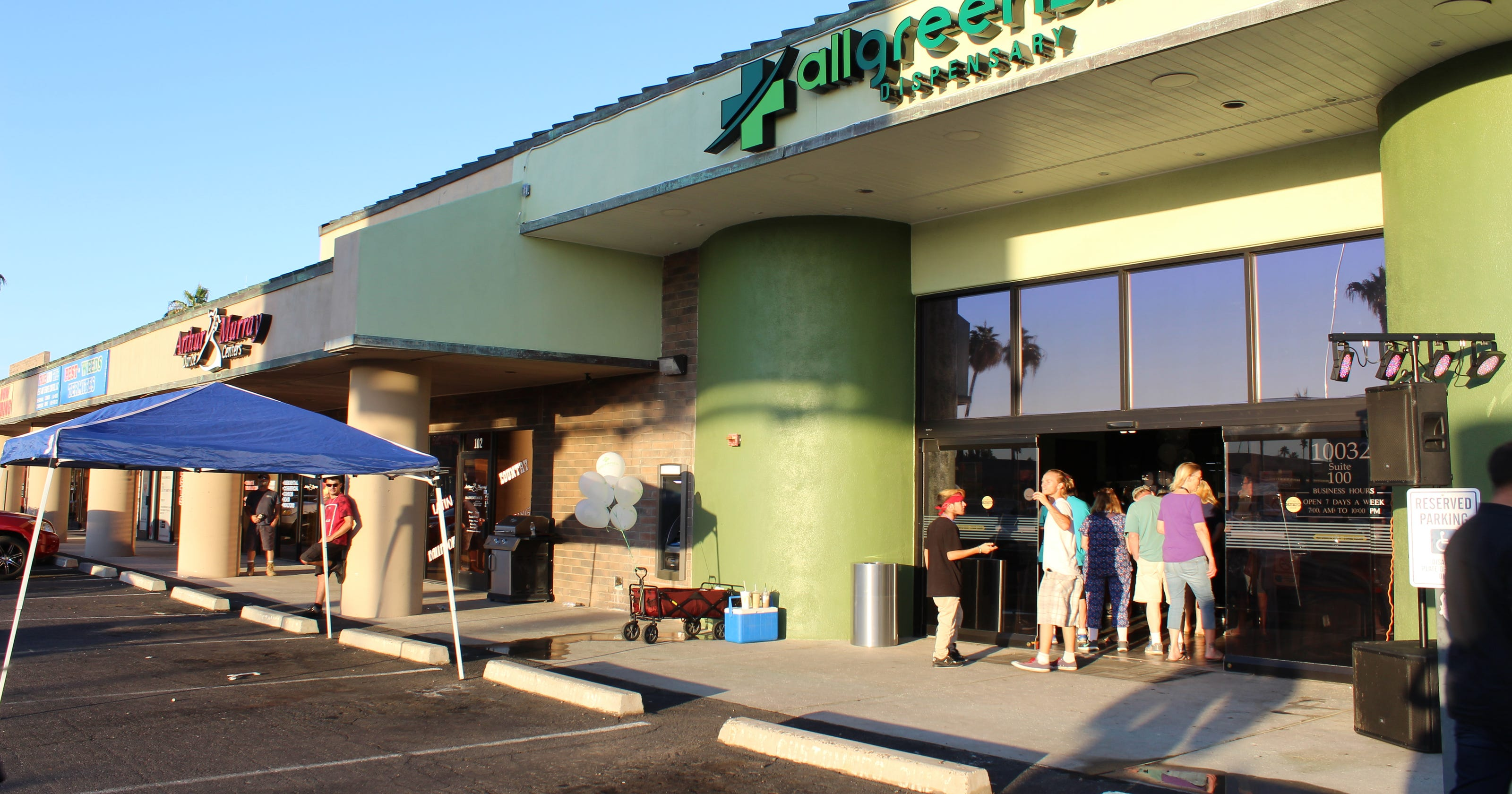 Arizona's first medical marijuana drive-thru opens in Sun City