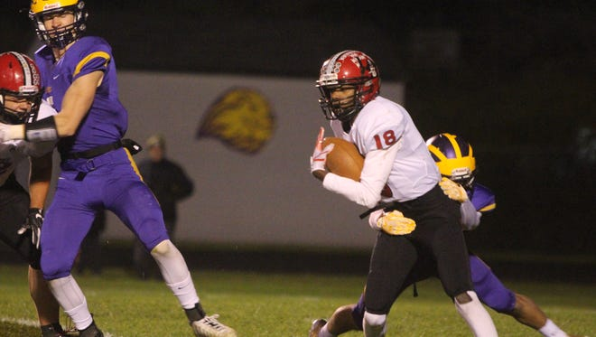 Pewaukee's David Young was named first-team All Conference on offense and defense in the Woodland Conference West Division.