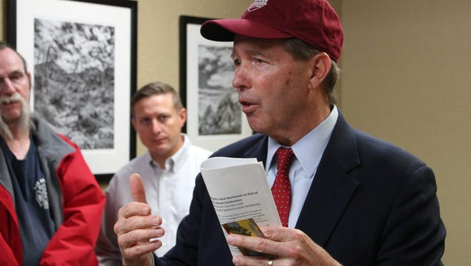 U.S. Sen. Tom Udall, D-N.M., announced Monday, March 25 he will not seek re-election to the seat in 2020.