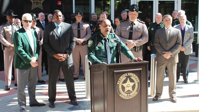 """Leon County Sheriff Walt McNeil announced an effort to bring together a dozen law enforcement agencies to help in the fight against the Big Bend's crime, calling it an """"extraordinary circumstance."""""""