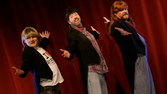 3 Redneck Tenors visit the Mansfield stage Thursday, Nov. 9, courtesy of the Great Falls Community Concert Association.
