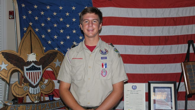 Hamilton Christopher Smith, IV Eagle Scout #94 Troop 840 of Stuart, is an Eagle Scout.