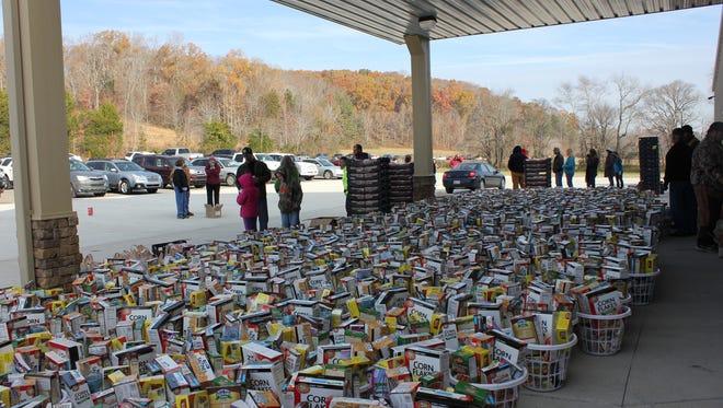 Food Give Away November-2014