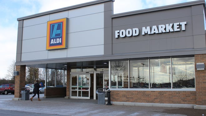 The Aldi Food Market in Rib Mountain.