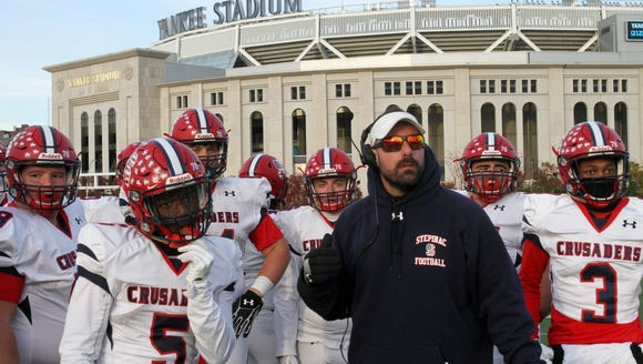 Stepinac defeated Hayes 13-12 in the CHSFL AAA semifinal
