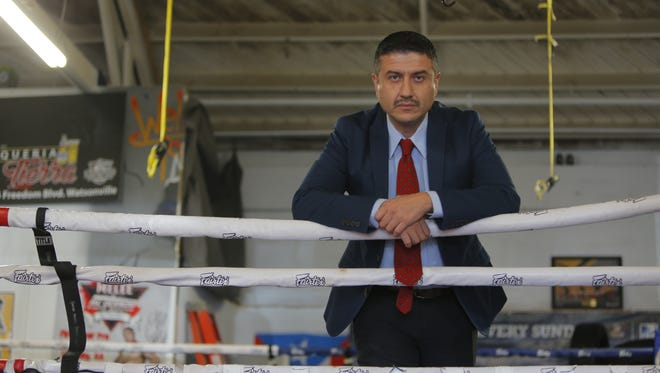 Miguel Diaz at Rock Boxing in Salinas.