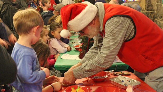 Crafts are popular activities during Silver Falls State Park's annual Christmas Festival. This year the park is celebrating its 40th festival.