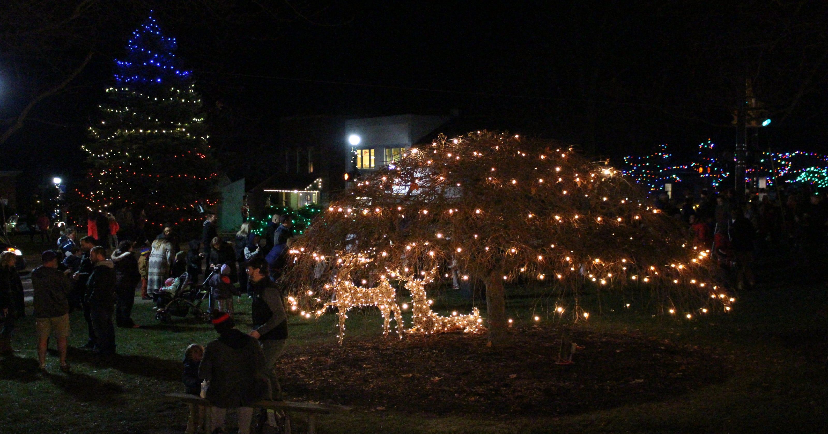 Lexington lights up for holidays
