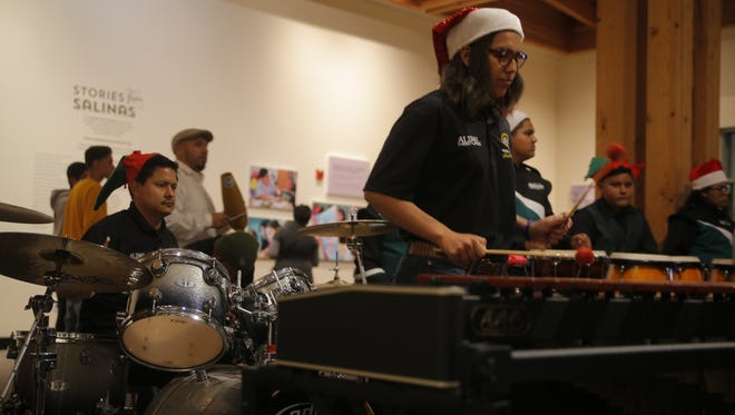 Salinas Youth Initiative celebrated the children and organizations involved Tuesday at the CSUMB Salinas Center for Arts and Culture.