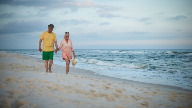 With wide sandy beaches, and relatively low-costs, Gulf Shores, Ala., attracts visitors year-round.