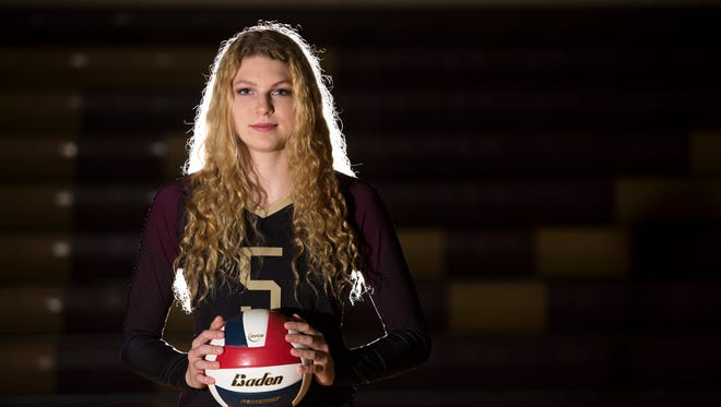 All-South Texas Volleyball Most Valuable Player and Tuloso-Midway senior Bethany Clapp helped the Cherokees back to the Class 5A state tournament in 2017.