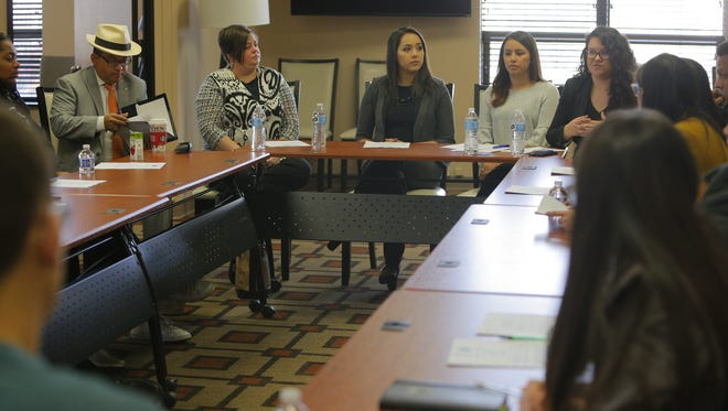 Tuesday's law school workshop at the Hispanic Chamber of Commerce of the Central Coast Office.