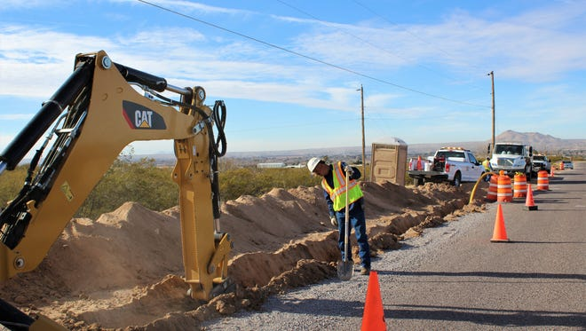 More than 6,000 feet of new natural gas lines are being installed to connect residents on Sand Hill Road on the East Mesa to natural gas. Residents can take advantage of the Connection Incentive Allowance that provides a $1400 allowance for signing on to new gas service in their unserved area.
