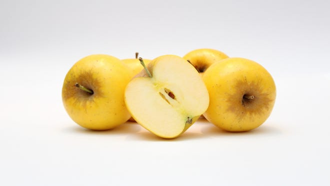 Opal apples are said to be non-browning apples. They're sold at select grocery stores in Arizona through March.